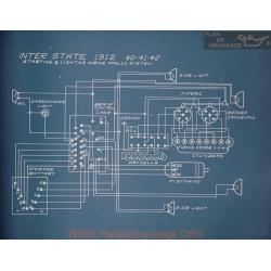 Inter State 40 41 42 Schema Electrique 1912