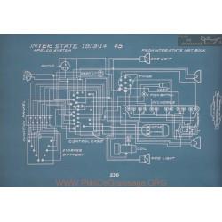 Inter State 45 Schema Electrique 1913 1914 V2