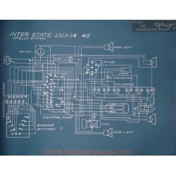 Inter State 45 Schema Electrique 1913 1914