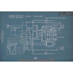 Inter State 50 51 52 Schema Electrique 1912 V2