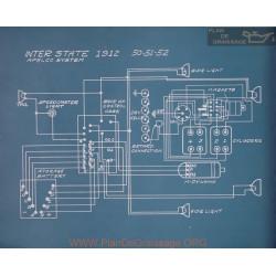 Inter State 50 51 52 Schema Electrique 1912