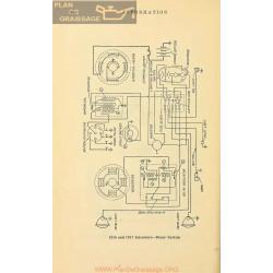 Inter state Schema Electrique 1916 1917 Remy