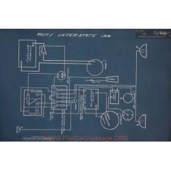 Inter State Schema Electrique 1916