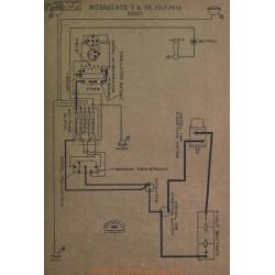 Inter state T Tr Schema Electrique 1917 1918 Remy