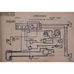 Jackson 348 6volt Schema Electrique 1916 Autolite V2