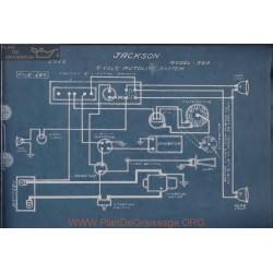 Jackson 348 6volt Schema Electrique 1916 Autolite