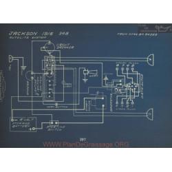 Jackson 348 Schema Electrique 1916 Autolite