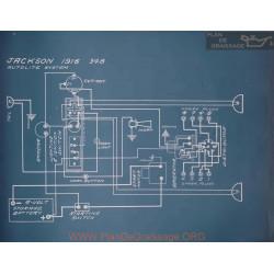 Jackson 348 Schema Electrique 1916