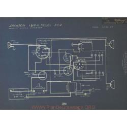 Jackson 349 Schema Electrique 1917 1918 Autolite Ver1