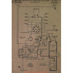 Jackson 349 Schema Electrique 1917 1918 Autolite