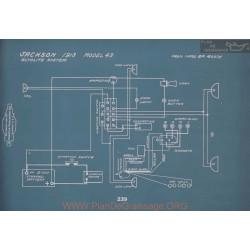 Jackson 43 Schema Electrique 1913 V2