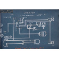 Jackson 46 6volt Schema Electrique 1914 Northeast