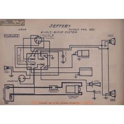 Jeffery 462 661 6volt Schema Electrique 1916 Bijur V2