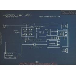 Jeffery 462 Schema Electrique 1916 Bijur