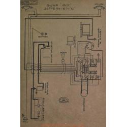 Jeffery 671 6 Schema Electrique 1917 Bijur