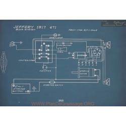 Jeffery 671 Schema Electrique 1917 V2