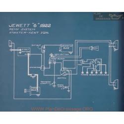 Jewett 6 Schema Electrique 1922