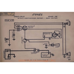 Jones 28 6volt Schema Electrique 1918 1919 Westinghouse