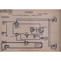 Jones B26 6volt Schema Electrique 1917 Autolite Remy