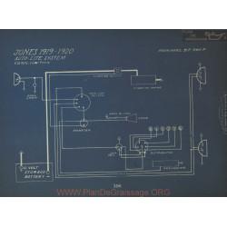 Jones Schema Electrique 1919 1920 Autolite