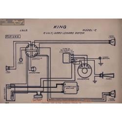 King C 6volt Schema Electrique 1915 Ward Leonard V2