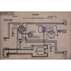 King D 6volt Schema Electrique 1915 Ward Leonard V2
