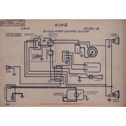 King E 6volt Schema Electrique 1916 Ward Leonard V2