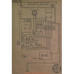 King E Ee Schema Electrique 1916 1917 Robbins & Meyers