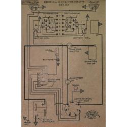 Kissel 12cyl Schema Electrique 1917 1918 1919