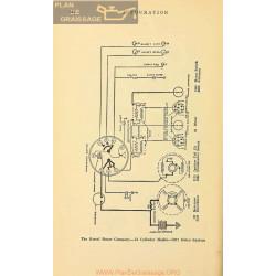 Kissel 12cyl Schema Electrique 1917 Delco