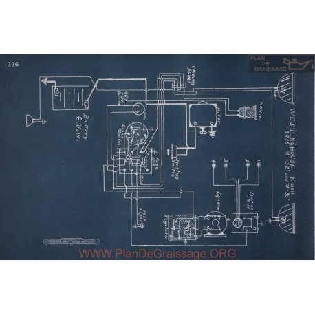 Kissel 4 36 4 32 Schema Electrique 1916