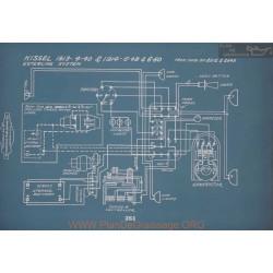 Kissel 4 40 1 48 6 60 Schema Electrique 1913 1914