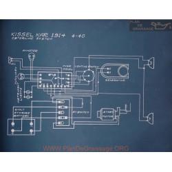 Kissel 4 40 Schema Electrique 1914