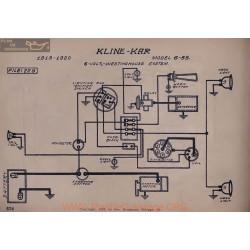 Kline Kar 6 55 6volt Schema Electrique 19191920 Westinghouse