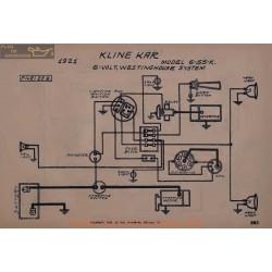 Kline Kar 6 55k 6volt Schema Elctrique 1921 Westinghouse