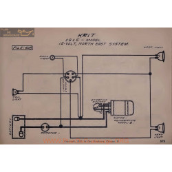 Krit 12volt Schema Electrique 1915 North East