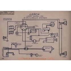 Leach 20 6volt Schema Electrique 1920 Delco V2