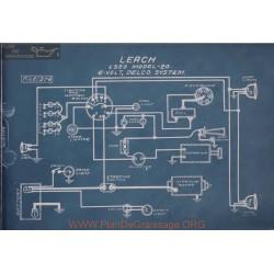 Leach 20 6volt Schema Electrique 1920 Delco
