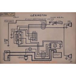 Lexington 4k 6l 6volt Schema Electrique 1915 Westinghouse V2