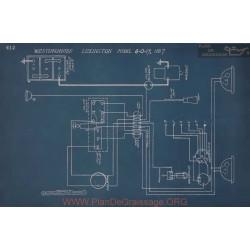 Lexington 6 0 17 Schema Electrique 1917