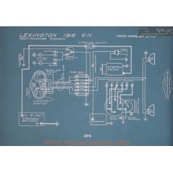Lexington 6n Schema Electrique 1916 V2