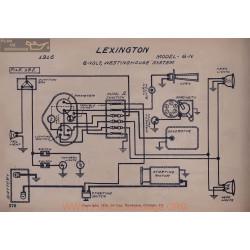 Lexington 6n Schema Electrique 1916 Westinghouse