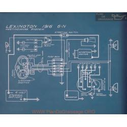 Lexington 6n Schema Electrique 1916