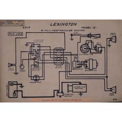Lexington O 6volt Schema Electrique 1916 Westinghouse V2