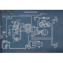 Lexington O 6volt Schema Electrique 1916 Westinghouse
