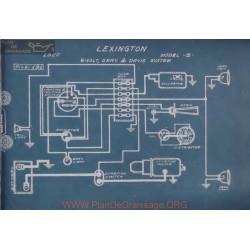 Lexington S 6volt Schema Electrique 1920 Gray & Davis