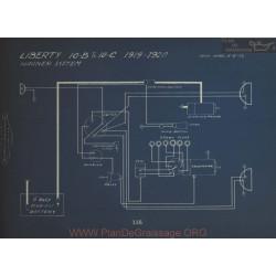 Liberty 10b 10c Schema Electrique 1919 1920 Wagner