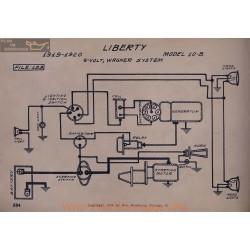 Liberty 10b 6volt Schema Electrique 1919 1920 Wagner V2