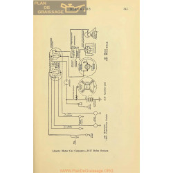 Liberty Schema Electrique 1917 Delco