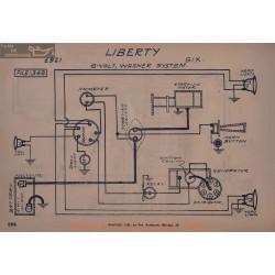 Liberty Six 6volt Schema Electrique 19221 Wagner